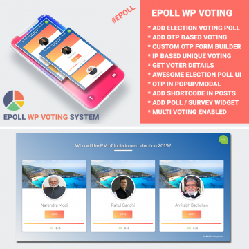 Wp Voting System - Epoll Version 3.0