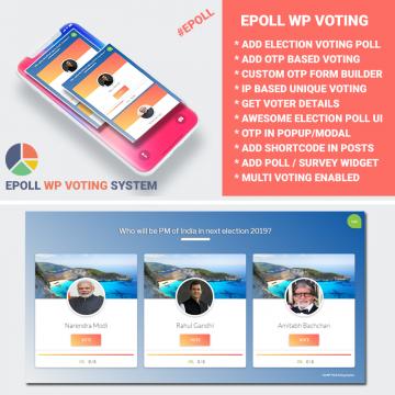 Wp Voting System - Epoll Version 3.0