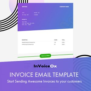 Best Email Template to Send Invoice