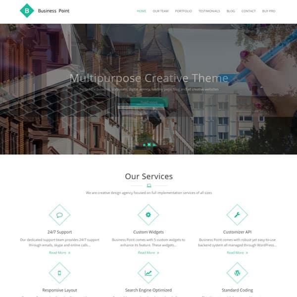 Business Point - Download Free Wordpress Theme