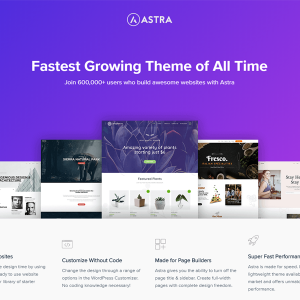Download Astra Free WordPress Theme