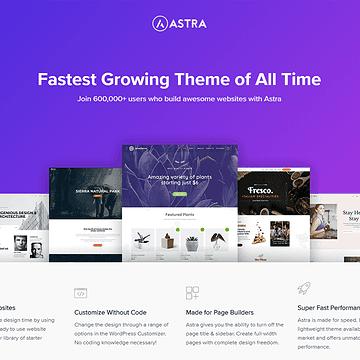Download Astra Free WordPress Theme