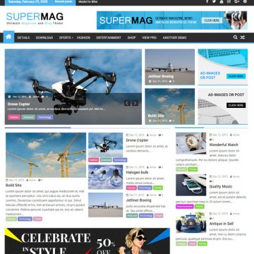 download free Supermag wptheme